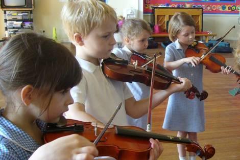 lekcja skrzypiec