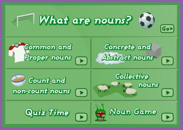 Manchester Uni nouns